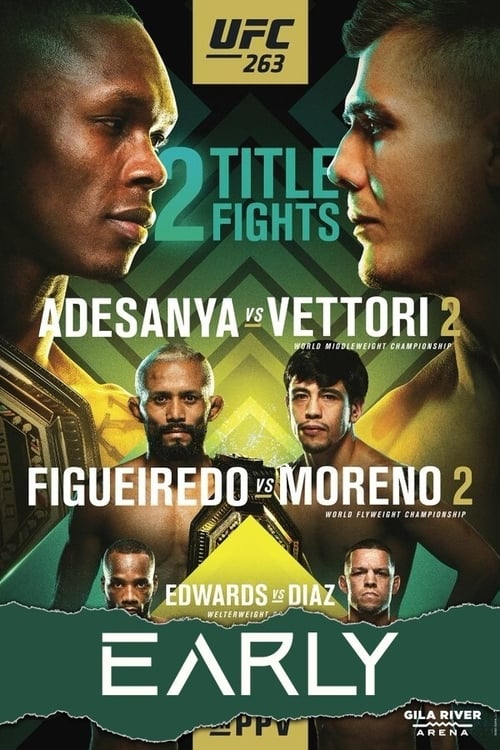 What Kind UFC 263: Adesanya vs. Vettori 2 - Early Prelims