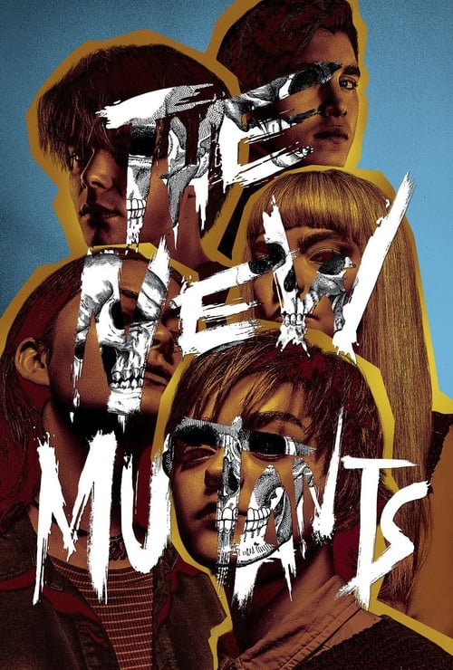 Poster. The New Mutants (2020)