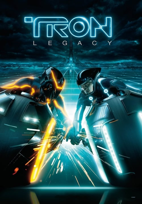 Poster for the movie, 'Tron Legacy'