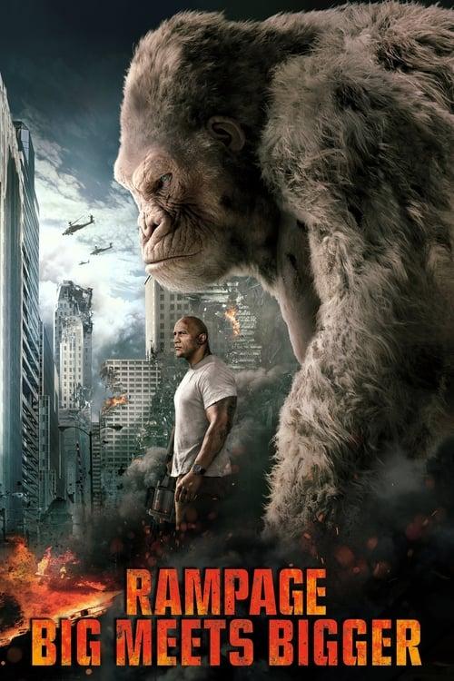 Rampage - Big meets Bigger - Poster