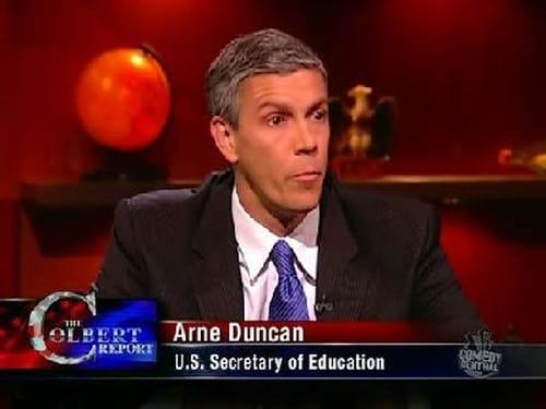 The Colbert Report: Season 5 – Episod Arne Duncan