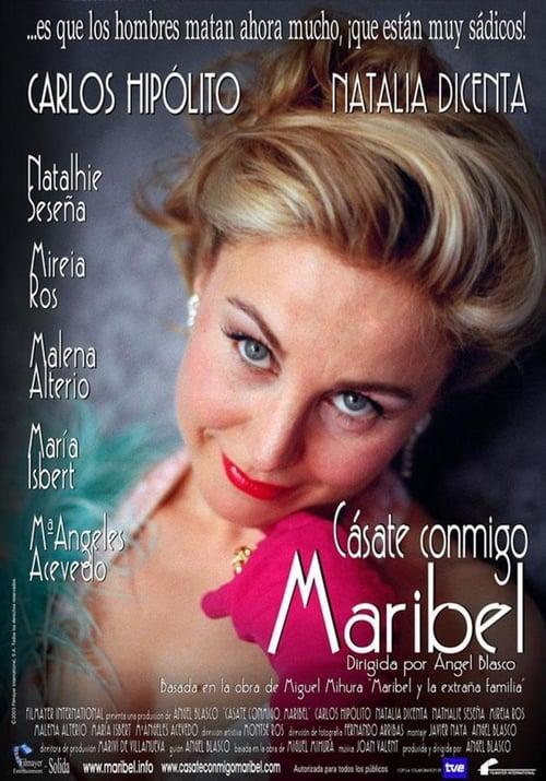 Largescale poster for Cásate conmigo, Maribel