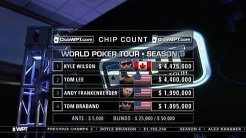 World Poker Tour 2011 Tv Show 300mb: Season 9 – Episode Legends of Poker - Part 2