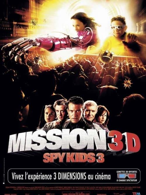 ® Spy Kids 3 : Mission 3D (2003) ★