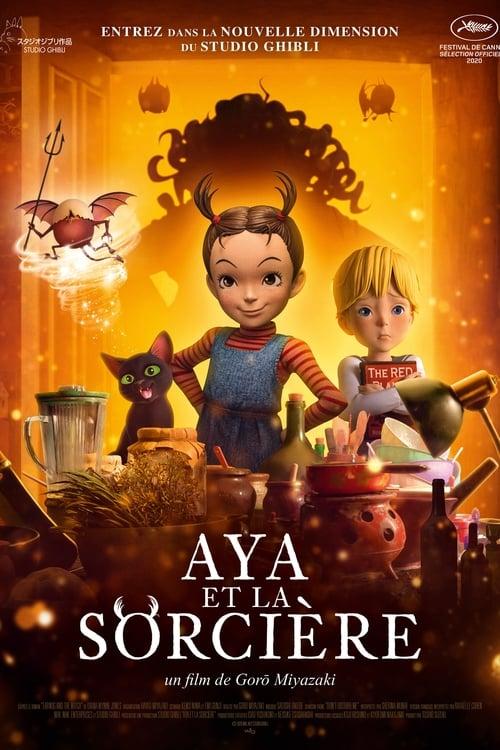 Visualiser Aya et la Sorcière (2021) streaming