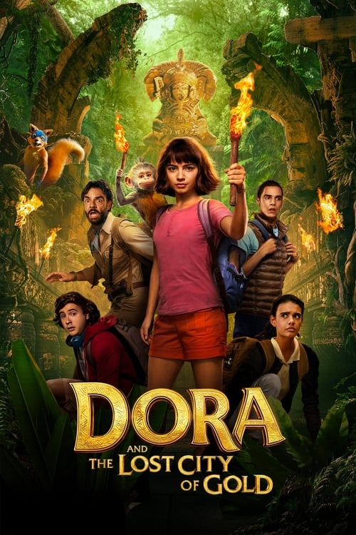 Poster. Dora And The Lost City Of Gold