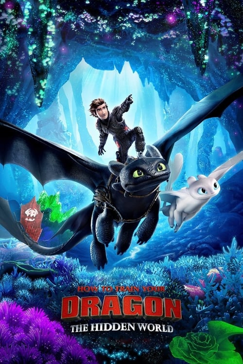 Poster. How to Train Your Dragon: The Hidden World (2019)