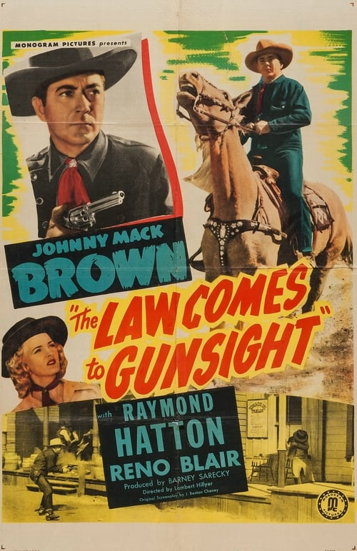 Ver pelicula The Law Comes to Gunsight Online