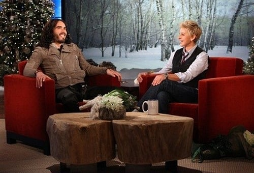 The Ellen DeGeneres Show: Season 9 – Episode Day #2 of 12 Days of Giveaways - Rusell Brand, Sting