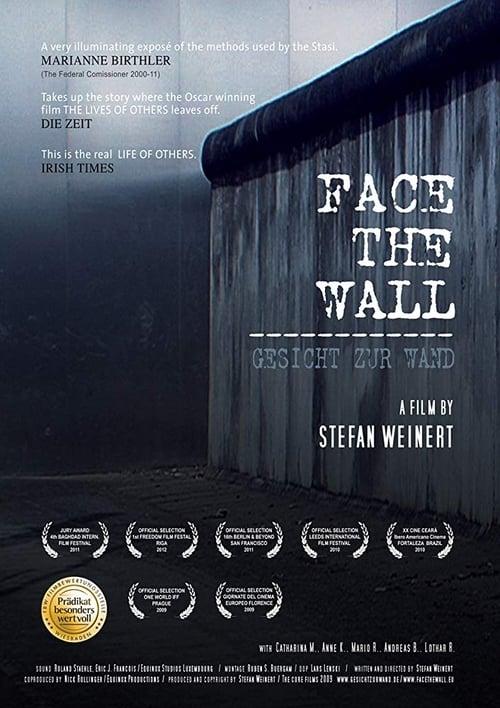 Gesicht zur Wand poster