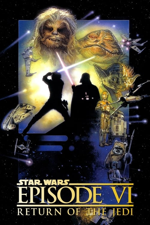 Largescale poster for Return of the Jedi