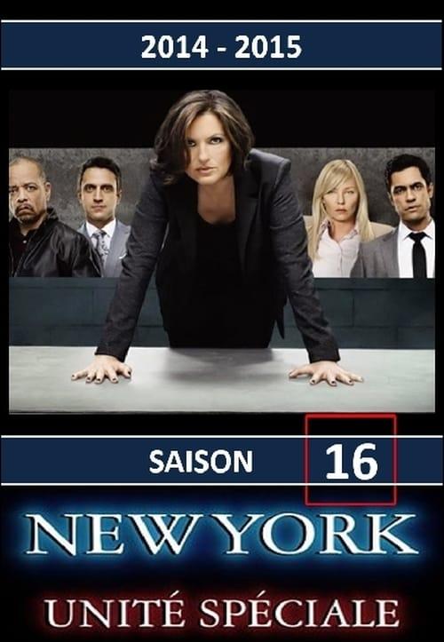New York Unité Spéciale: Saison 16