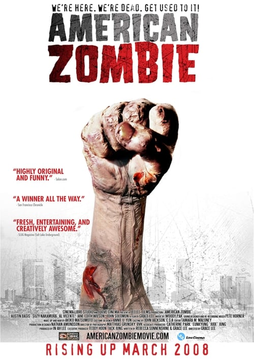 American Zombie (2007) Poster