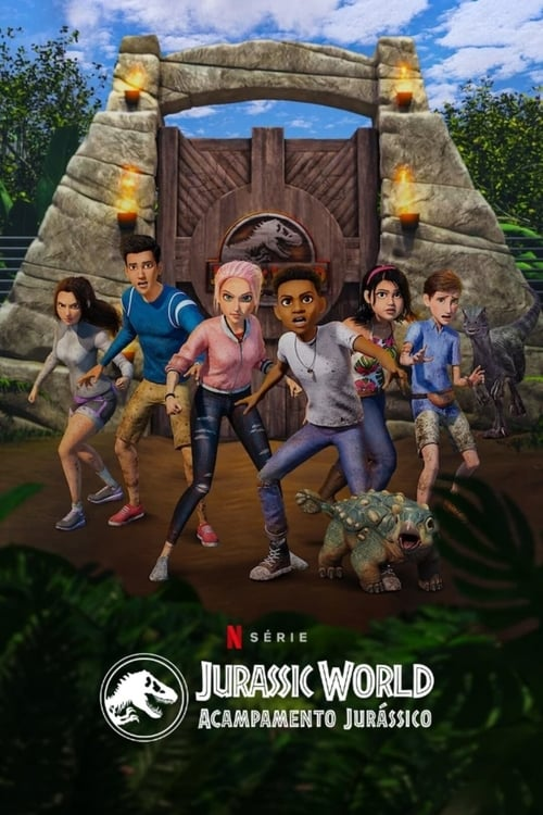 Jurassic World: Acampamento Jurássico 2ª Temporada Completa 2020 - Dual Áudio / Dublado WEB-DL 1080p