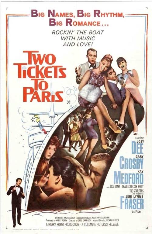 Two Tickets to Paris Vidéo Plein Écran Doublé Gratuit en Ligne FULL HD 1080