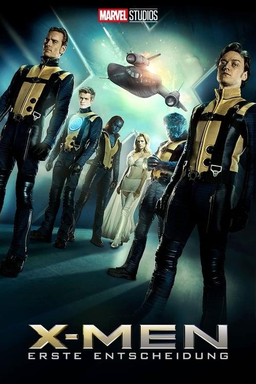 X-Men: Erste Entscheidung - Action / 2011 / ab 12 Jahre