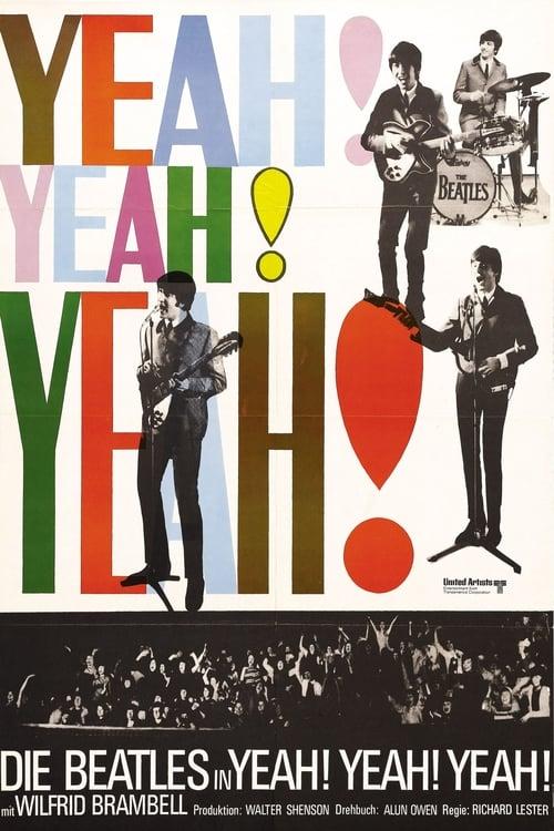 Poster von A Hard Day's Night