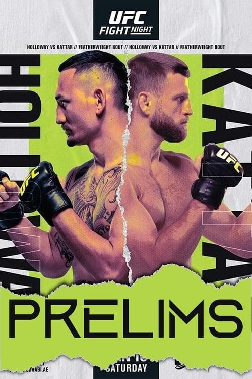 UFC on ABC 1: Holloway vs. Kattar - Prelims