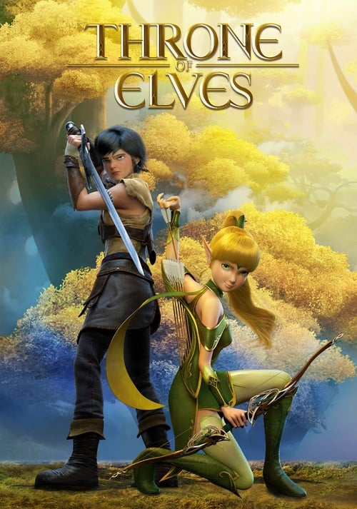 Dragon Nest Movie 2: Throne of Elves poster