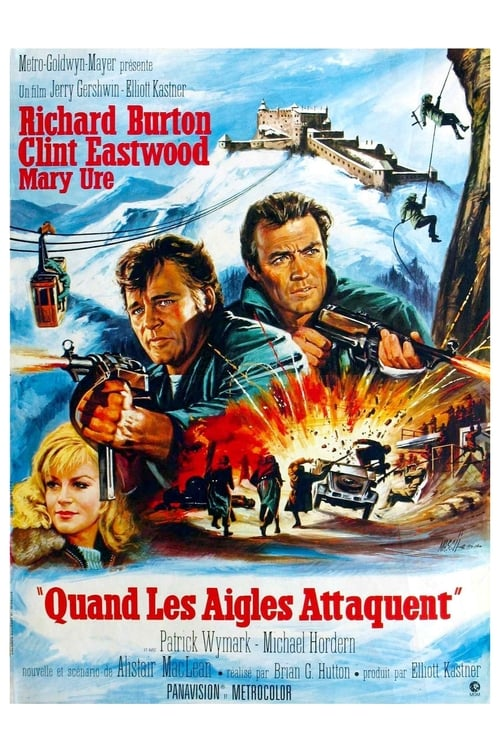 [1080p] Quand les aigles attaquent (1968) streaming Youtube HD