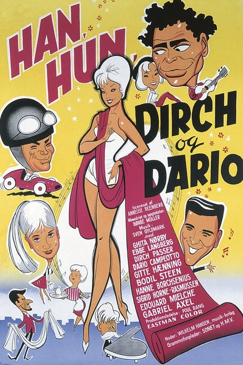 Largescale poster for Han, hun, Dirch og Dario