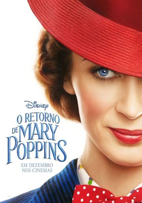 Assistir O Retorno de Mary Poppins 2018 - Dublado Online Grátis HD