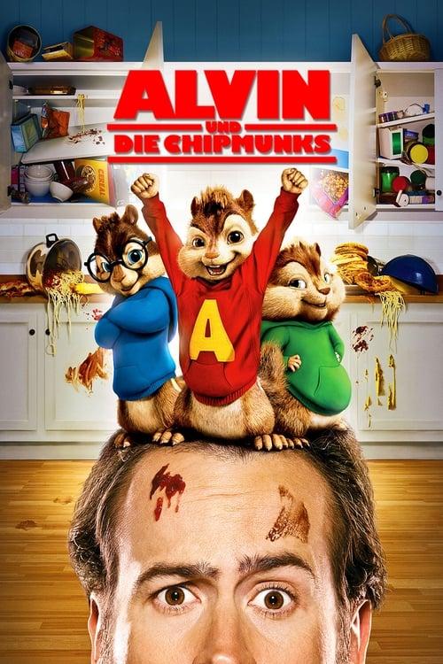 Alvin und die Chipmunks - Der Film - Komödie / 2007 / ab 0 Jahre