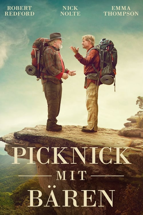 Picknick mit Bären - Poster