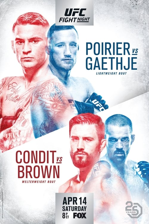 UFC on Fox 29: Poirier vs. Gaethje