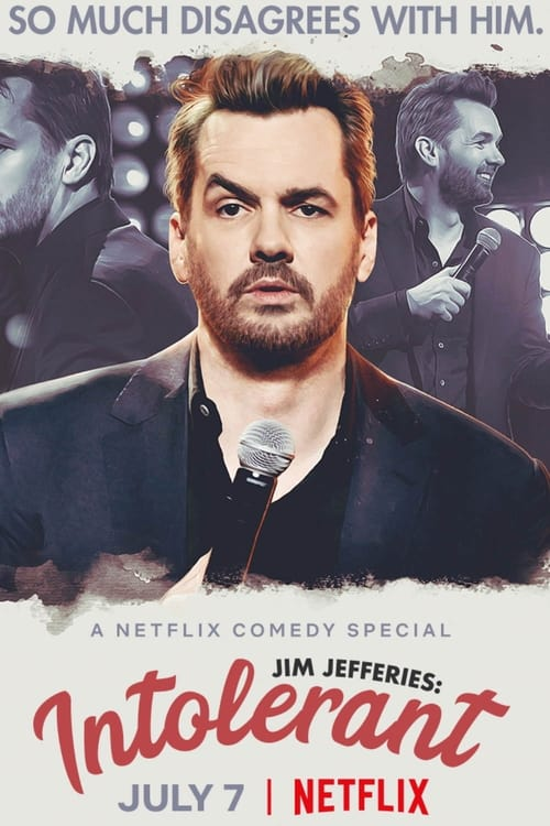 Poster von Jim Jefferies: Intolerant