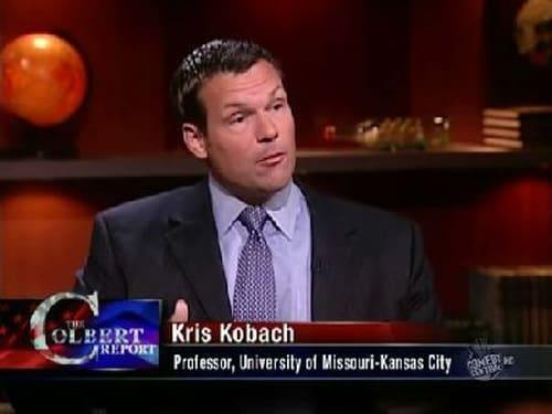 The Colbert Report: Season 5 – Episod Kris Kobach