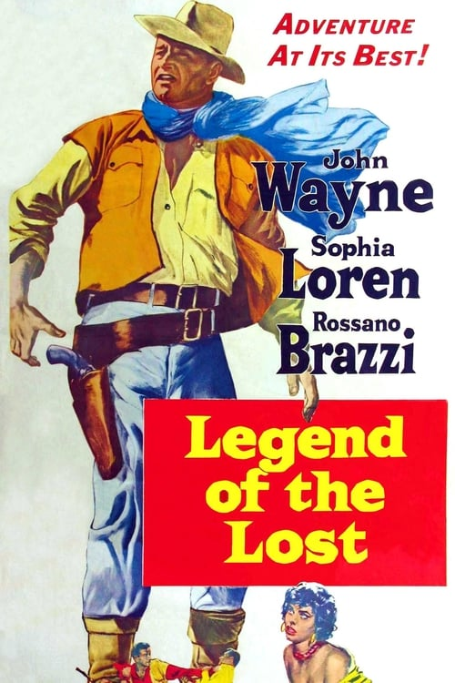 Largescale poster for Legend of the Lost