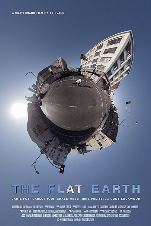 The Flat Earth poster
