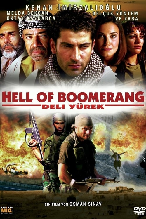 Hell of Boomerang - Deli Yürek - Poster