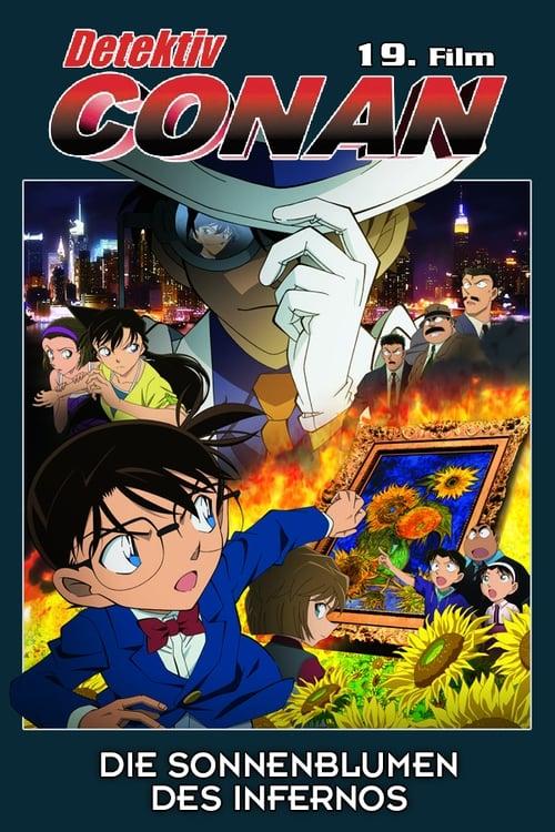 Detektiv Conan - Die Sonnenblumen des Infernos - Krimi / 2016 / ab 12 Jahre