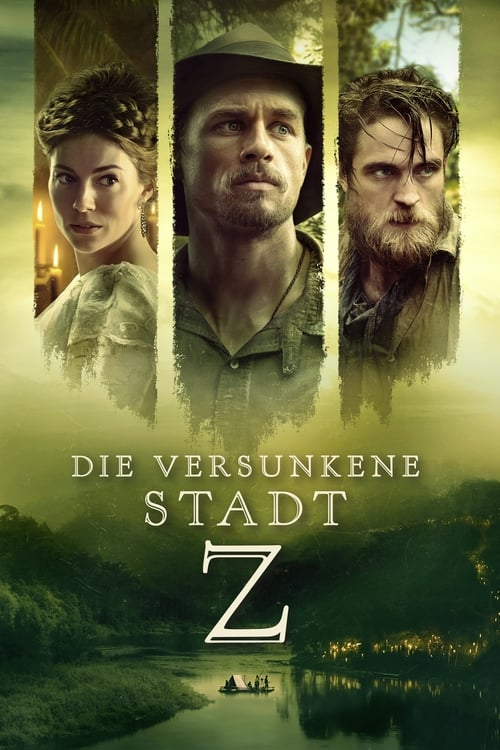 Die versunkene Stadt Z - Poster