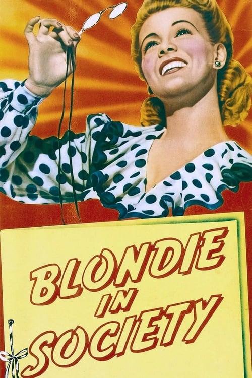 شاهد الفيلم Blondie in Society مجاني تمامًا