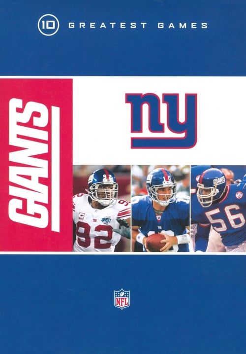 NFL: New York Giants - 10 Greatest Games poster