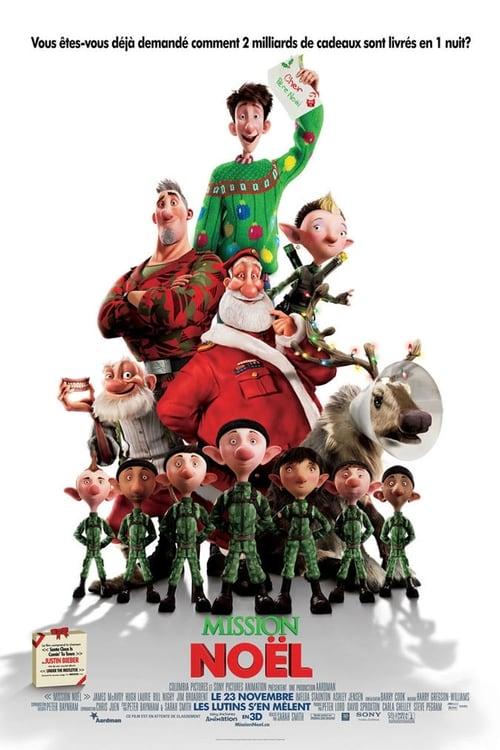 [HD] Mission : Noël - Les aventures de la famille Noël (2011) film vf