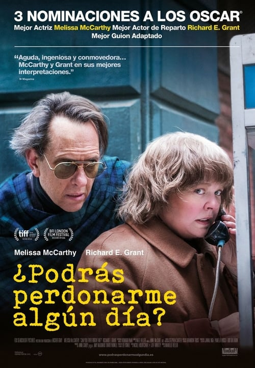 ¿Podrás Perdonarme? (Can You Ever Forgive Me?)