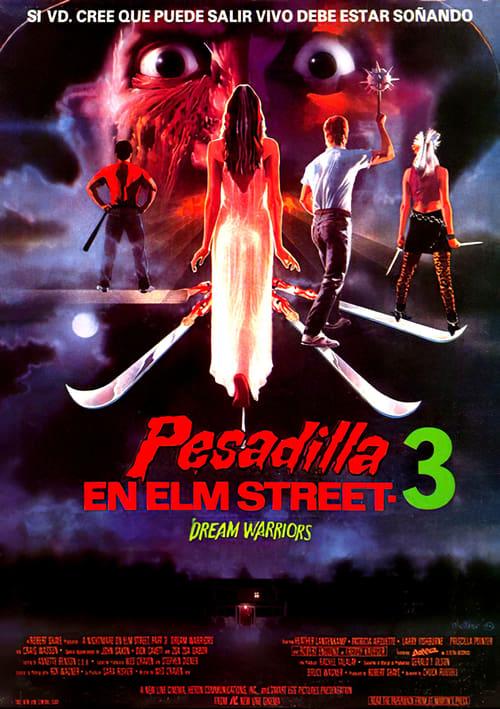 Descargar Pesadilla en Elm Street 3: Los guerreros del sueño en torrent