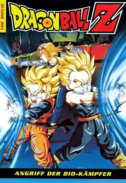 Dragonball Z 11: Angriff Der Bio-Kämpfer - Poster