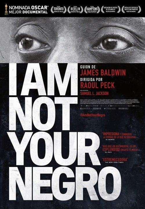 Mira La Película I Am Not Your Negro En Buena Calidad
