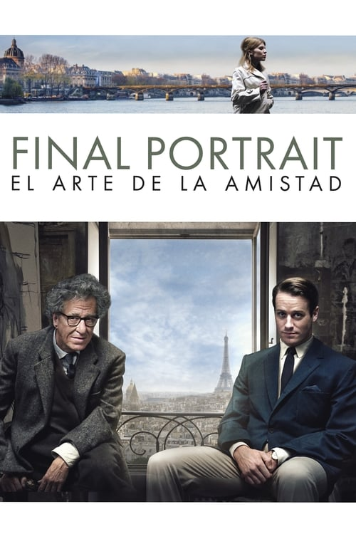 Mira La Película Final Portrait: el arte de la amistad En Español En Línea
