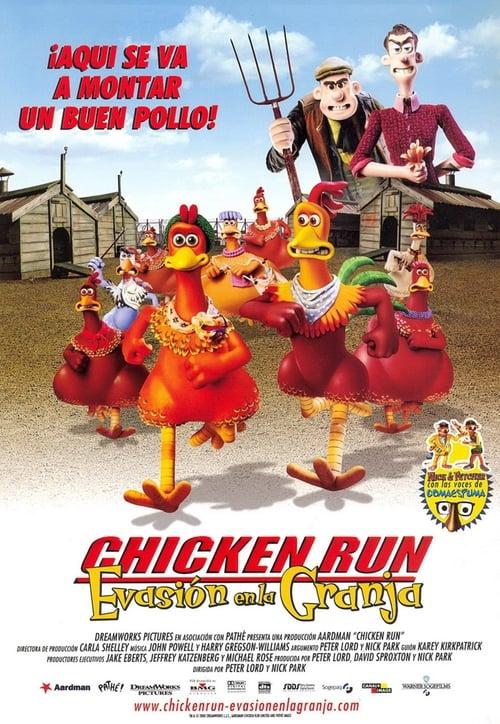Película Chicken Run: Evasión en la granja En Buena Calidad Hd 720p