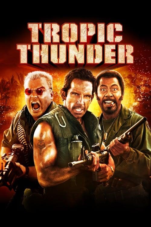Tropic Thunder - Poster