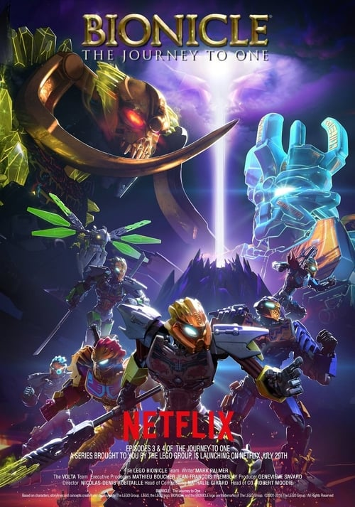 Watch streaming Lego Bionicle: The Journey to One