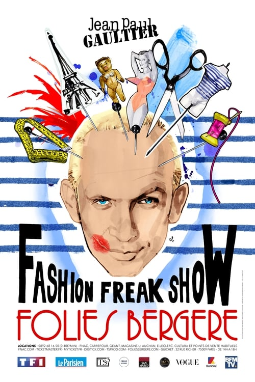 Watch Jean-Paul Gaultier: Freak and Chic Online Free Movie 4K