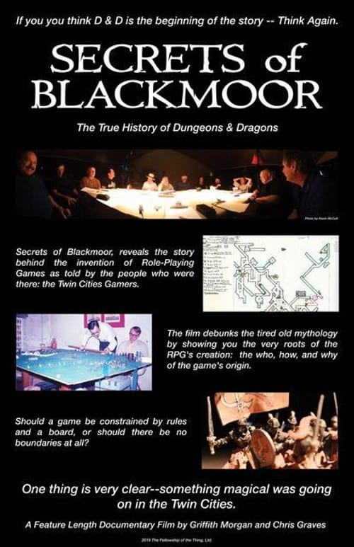 Secrets of Blackmoor: The True History of Dungeons & Dragons (1969)