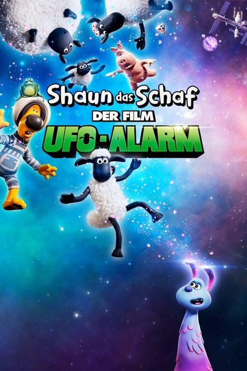 Poster von Shaun das Schaf - Der Film: UFO-Alarm